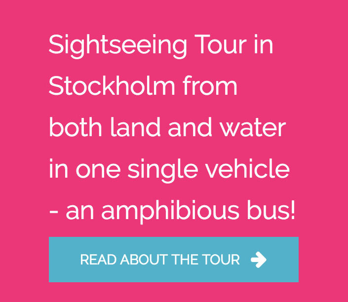 Sightseeing Tour i Stockholm